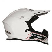 PROGRIP PG 3190 ABS ACU approved Motorcycle MX Helmet White Size L (59-60 cm)